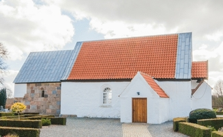 Minikonfirmand i Ørre kirke