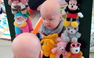Babysalmesang - en stjernestund for mor/far og baby