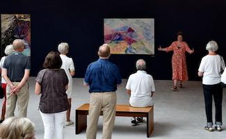 Offentlig omvisning på Carl-Henning Pedersen & Else Alfelts Museum