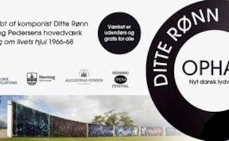 Fernisering af lydværket OPHAV af Ditte Rønn 27. august kl. 15.00